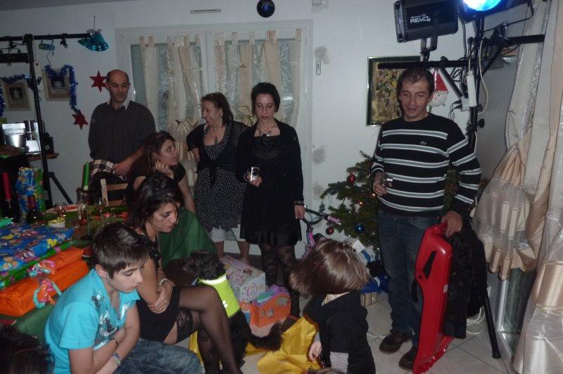 Blacky à Noël