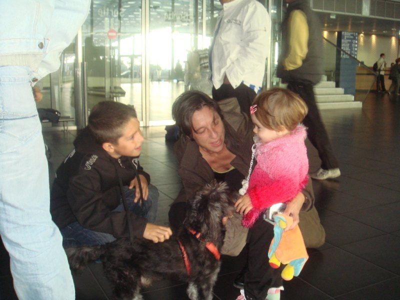 Blacky à laéroport de Brest Guipavas