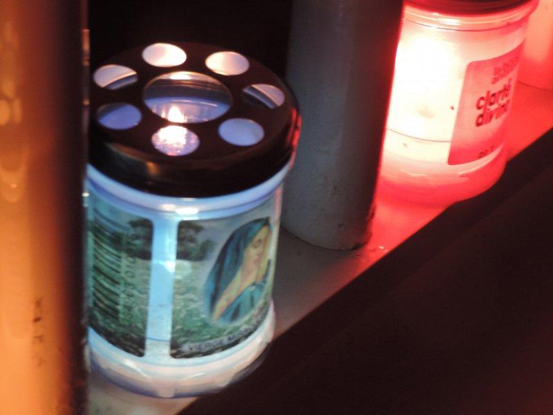 Toussaint 2013 : Bougies pour mon petit Ange Gardien Blacky ♥