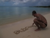 Une très grande pensée aujourd'hui jeudi 18 octobre 2012  pour mon petit chien Blacky ♥ de la plage Anse du souffleur à Port-Louis en Guadeloupe