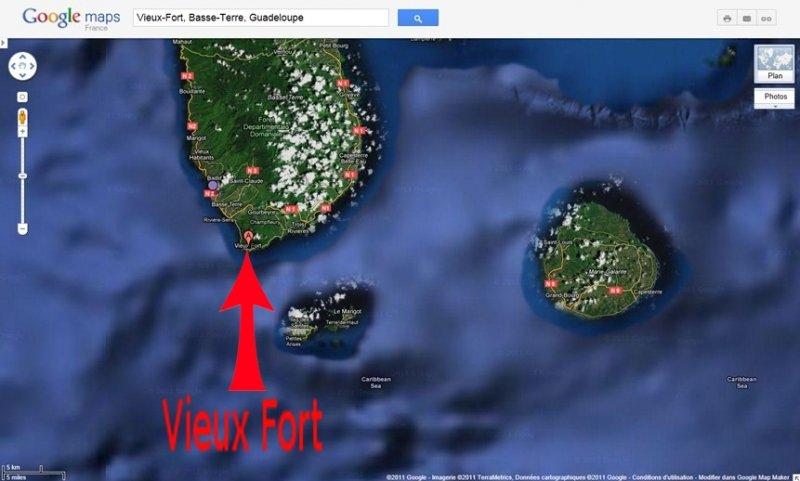 Vieux-Fort en Guadeloupe